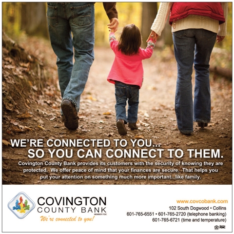 We're connected to you so you can connect to them - family graphic